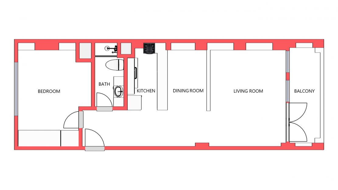 Floor Plan 606