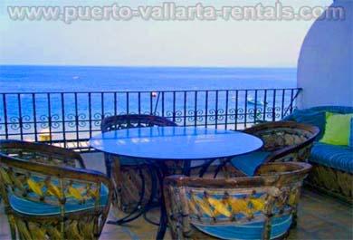 Puerto Vallarta Rentals Deck FS