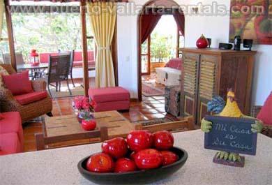 Puerto Vallarta Rentals Living Room FS