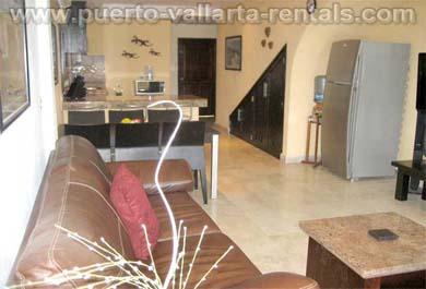 Puerto Vallarta Rentals Living Room